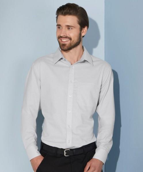 Men's Shirt Longsleeve Oxford James&Nicholson JN686