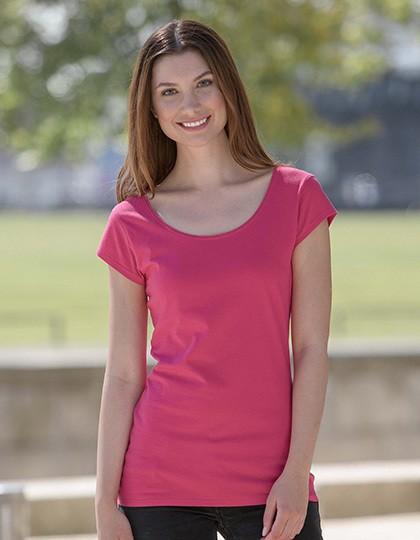 Ladies Roundneck T-Shirt Neutral 81010