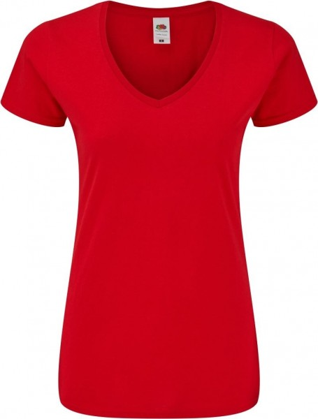 Ladies' Iconic 150 V-Neck T Fruit of the Loom